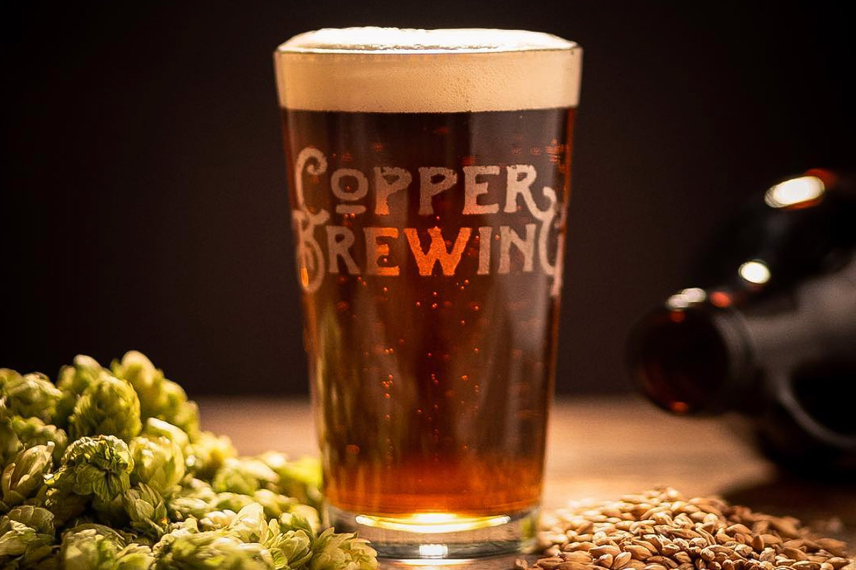 Copper Brewing is opening a 110 seat capacity microbrewery on Kirschner Road, one of 5 new brewers to come. Photo: Cory Ransom. @coryransom