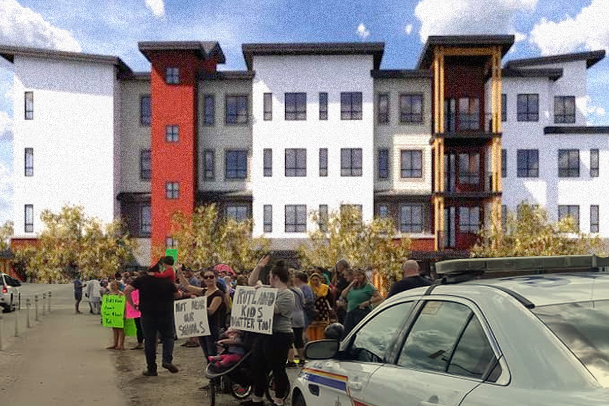 A groundswell of outrage and moral panic has exploded in Rutland upon City Council's approval of a development permit that will allow BC Housing to build supportive housing for 49 individuals at 130 McCurdy Road.